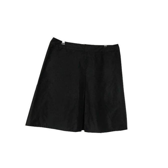 Prada black knee length skirt IT 48