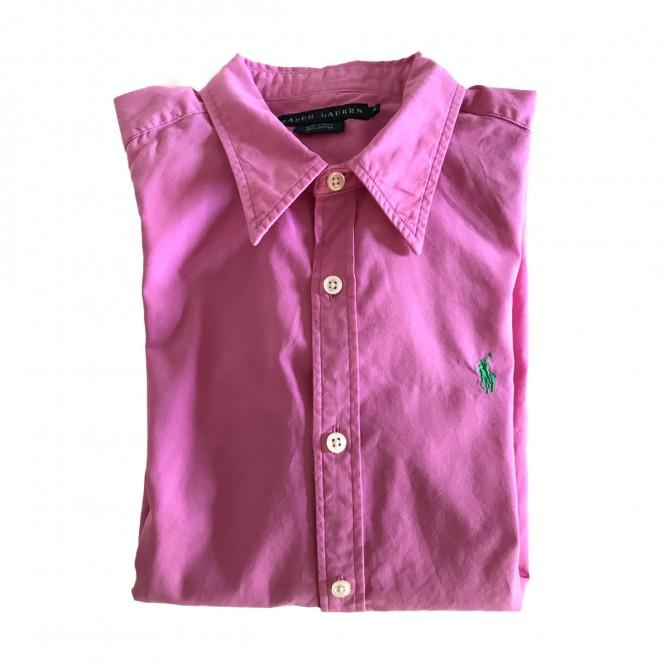 Ralph Lauren Shirt fuschia cotton US8