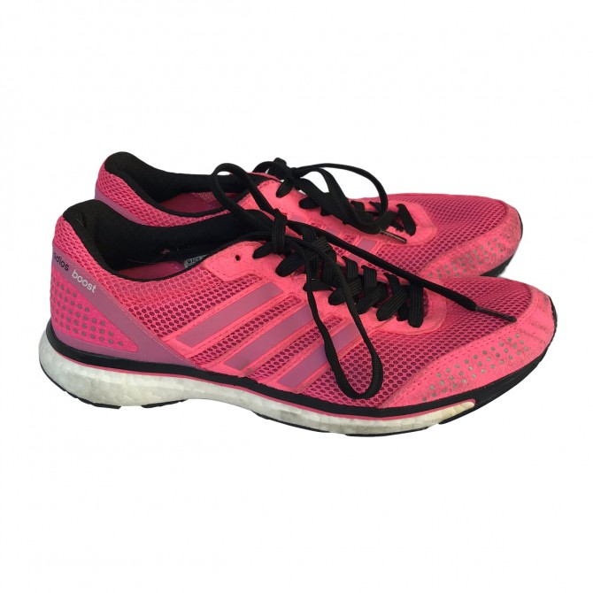 Adidas Adios Boost Pink Trainers