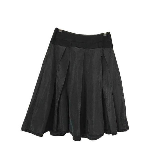 Donna Karan black knee length skirt size IT 46 or US10