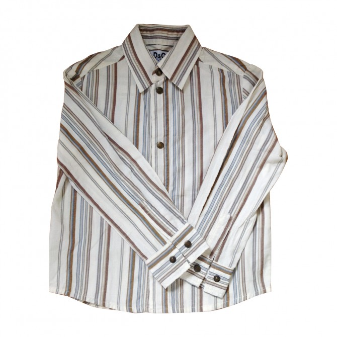 D&G BOYS UP TO 5 YEARS OLD STRIPED SHIRT