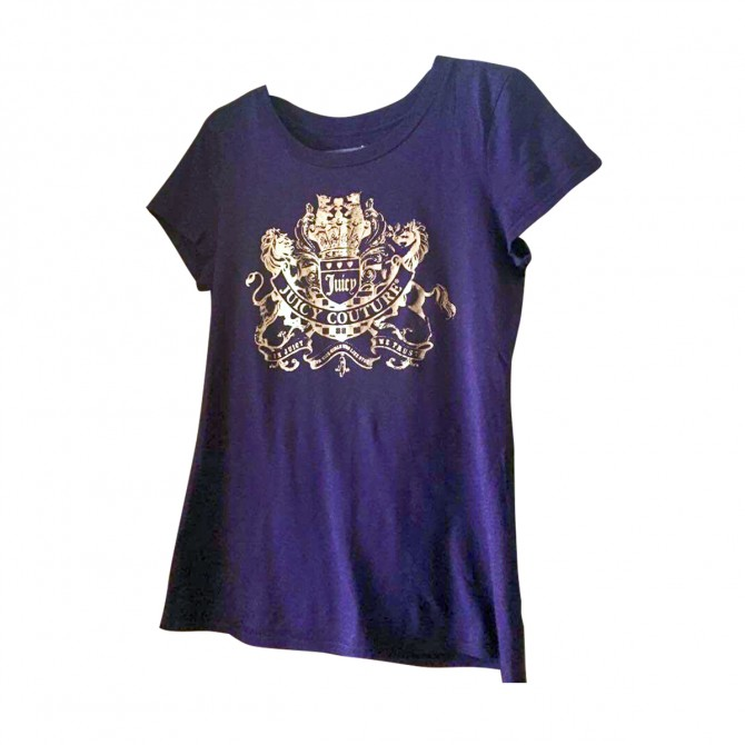 Juicy Couture t-shirt in purple