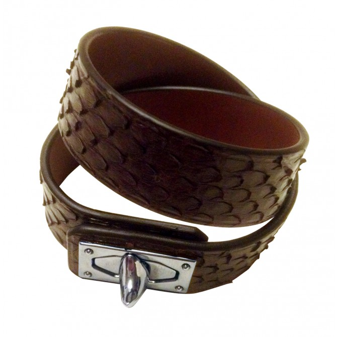 Givenchy exotic leather bracelet