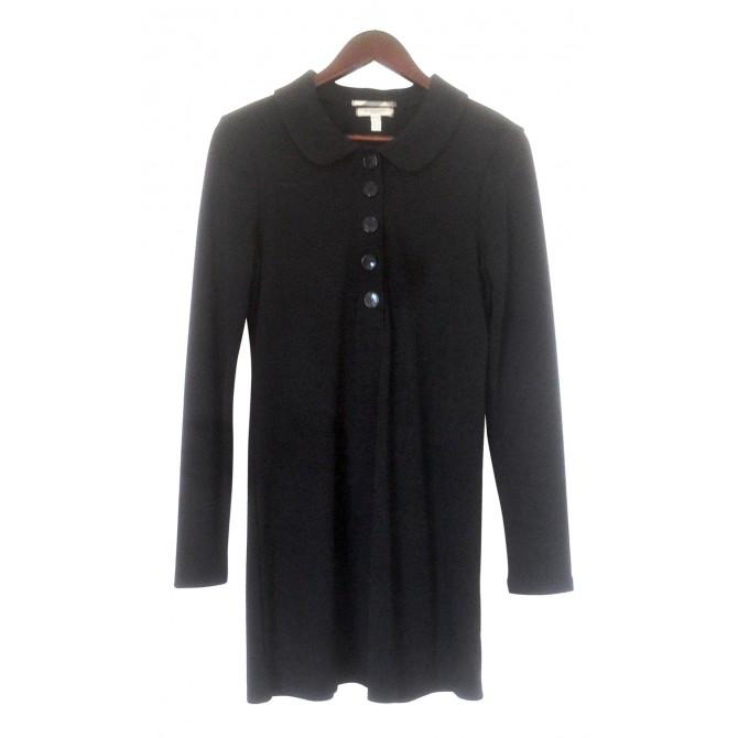 BURBERRY black wool dress