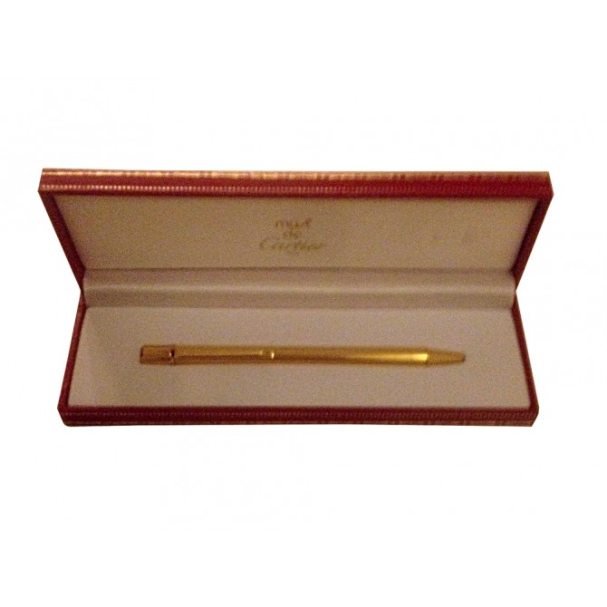 CARTIER gold plated pen