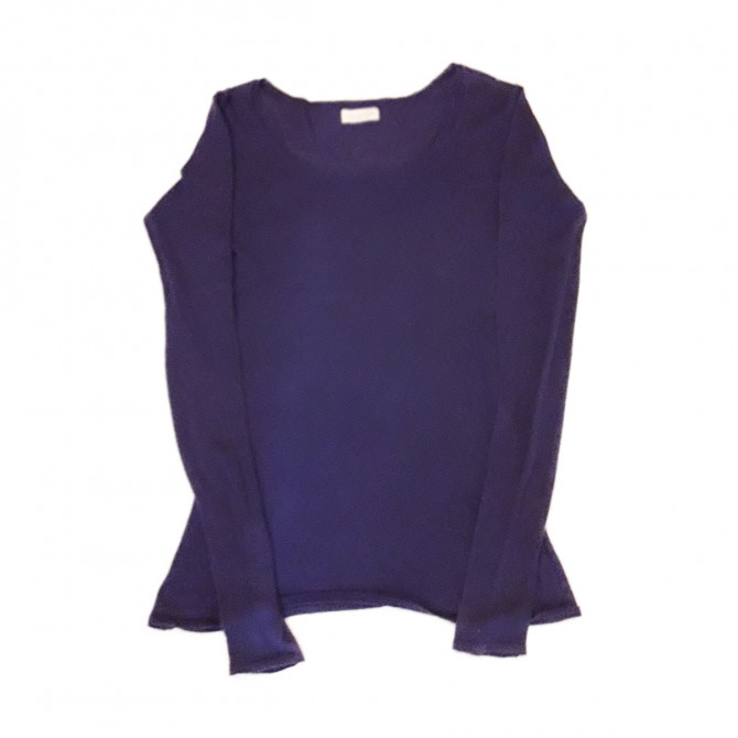 AMERICAN VINTAGE CASHMERE AND COTTON  LONGSLEEVE T-SHIRT
