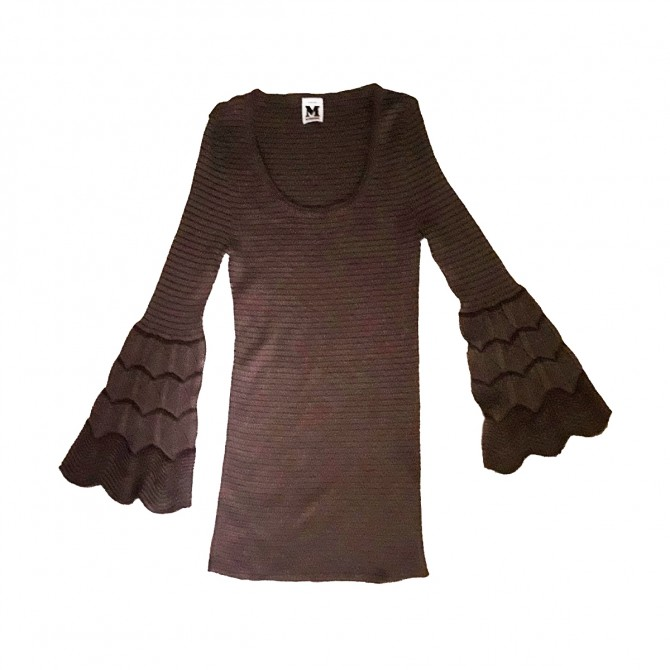 MISSONI knitwear top with belled sleeves