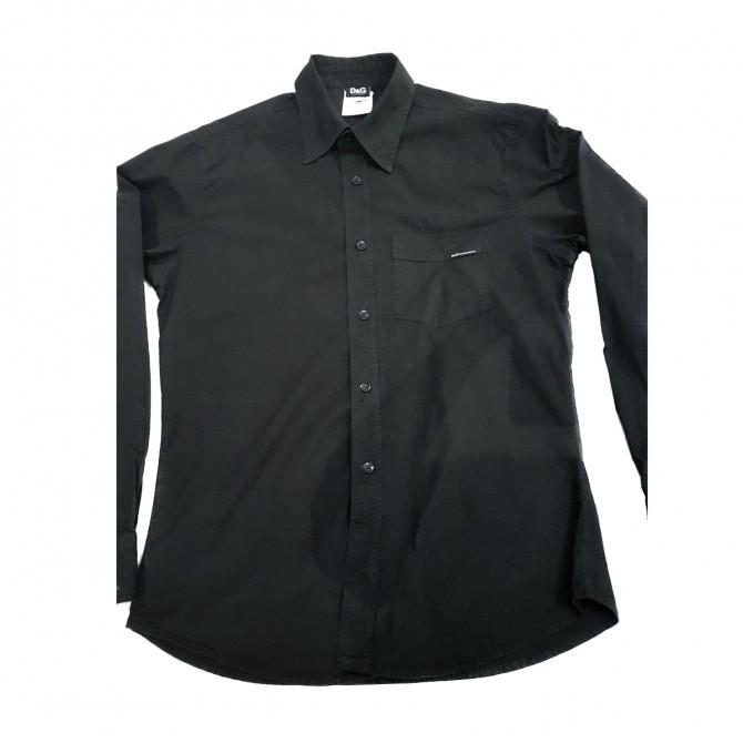 Dolce&Gabbana men's black shirt