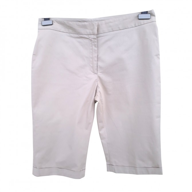 BURBERRY SHORTS in beige cotton
