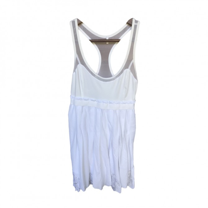 Adidas Stella Mc Cartney white dress