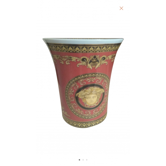 Rosenthal Versace Medusa vase