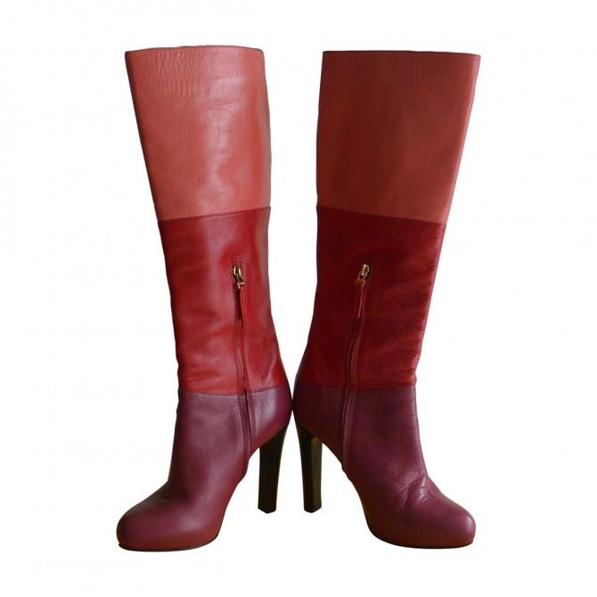 FENDI knee length boots