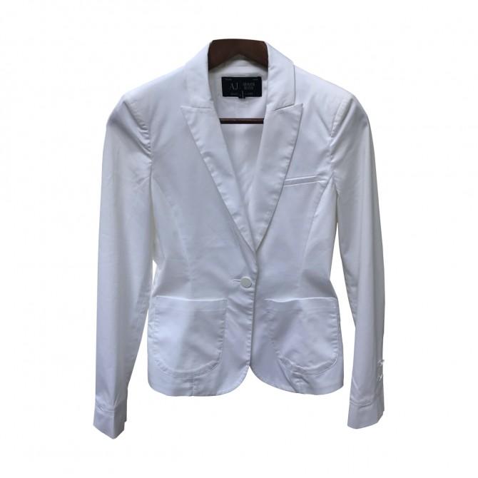 Armani Jeans White Jacket