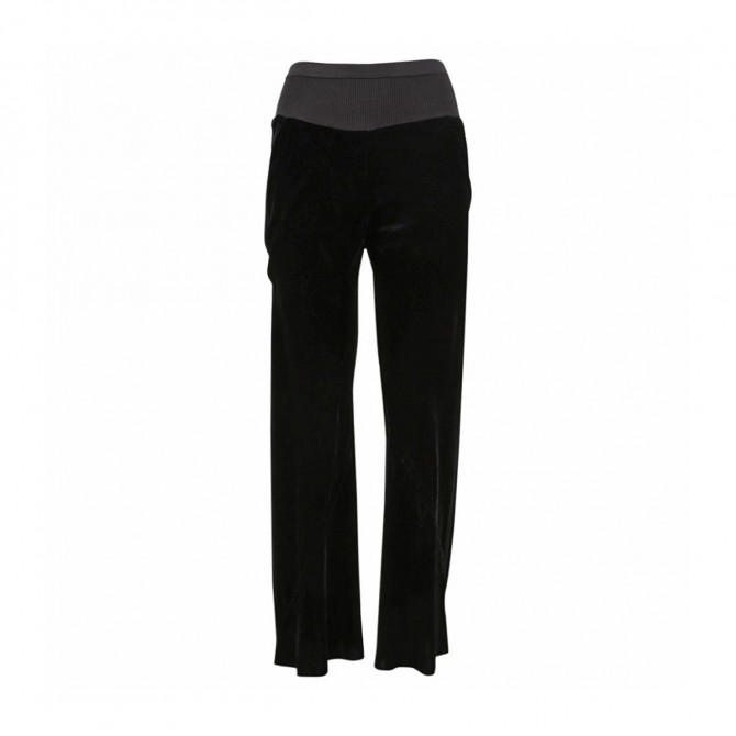 RICK OWENS velour trousers