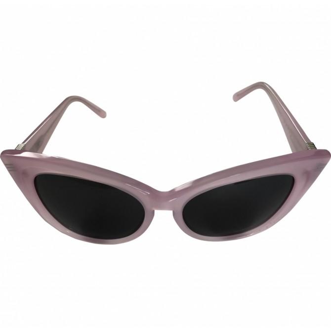 Rochas pink retro style sunglasses