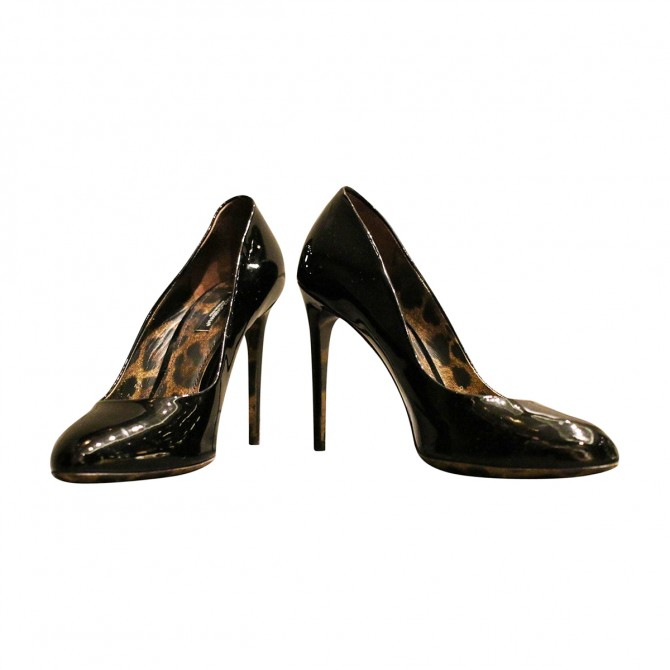 DOLCE & GABBANA heels in patent leather