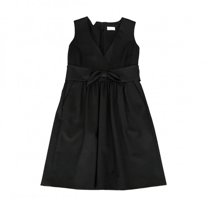 VALENTINO RED BLACK DRESS