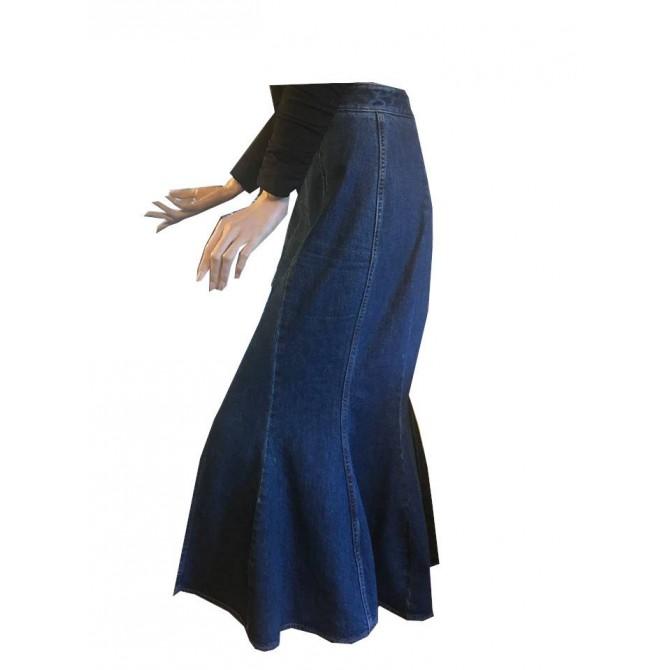 Stella McCartney Jean Midi Skirt