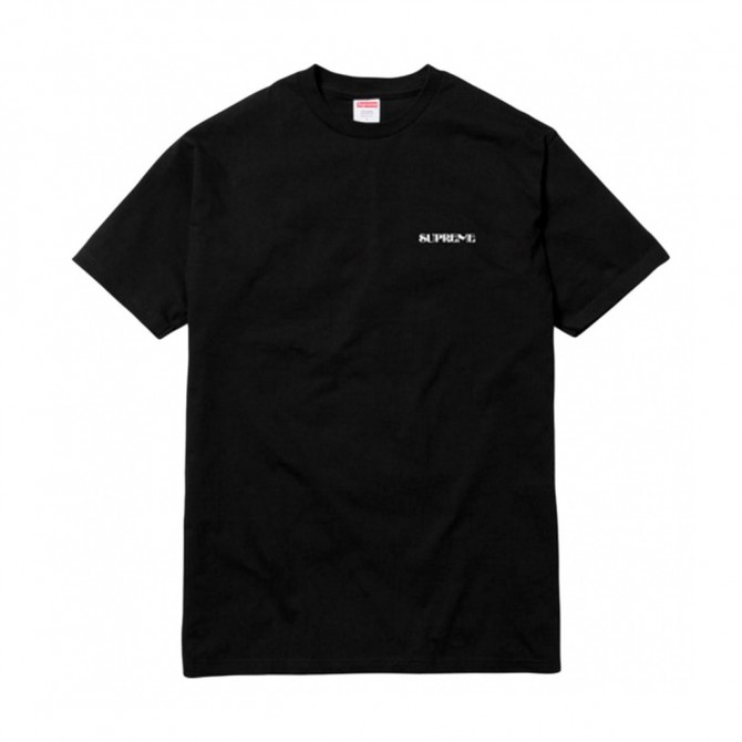 SUPREME MENS T-SHIRT with stamp