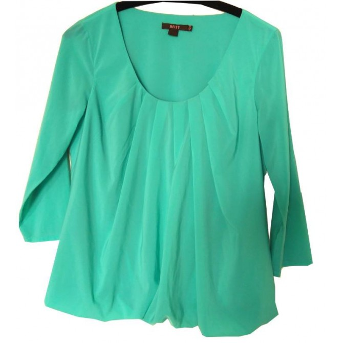 Reiss green top UK8 or INT S