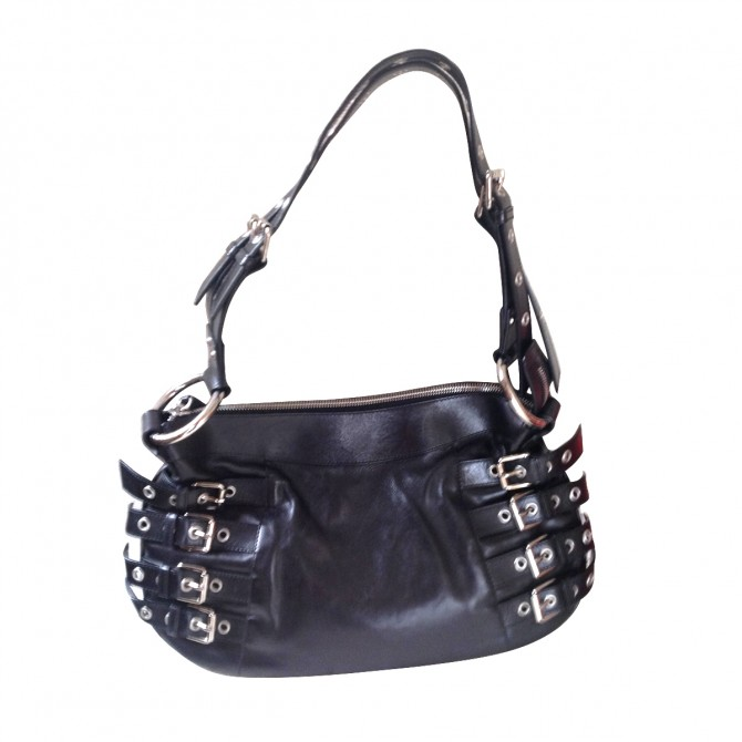 DOLCE&GABBANA black LEATHER BAG