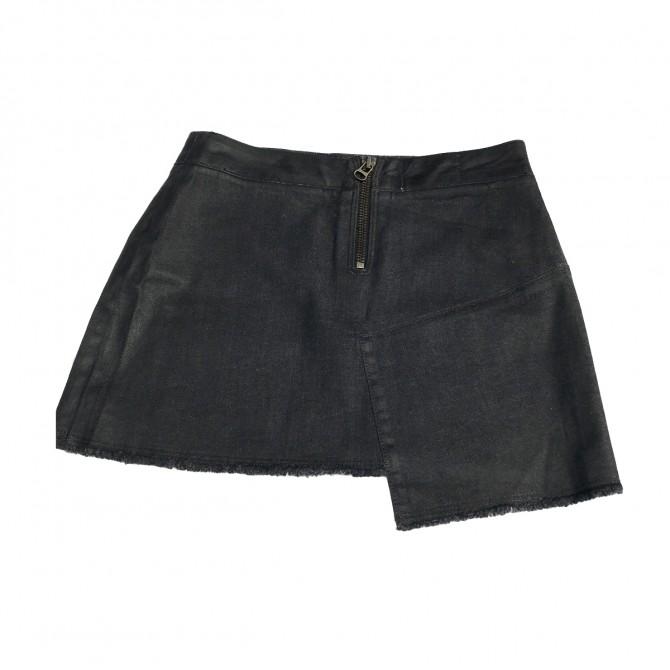 Zadig & Voltaire black mini skirt