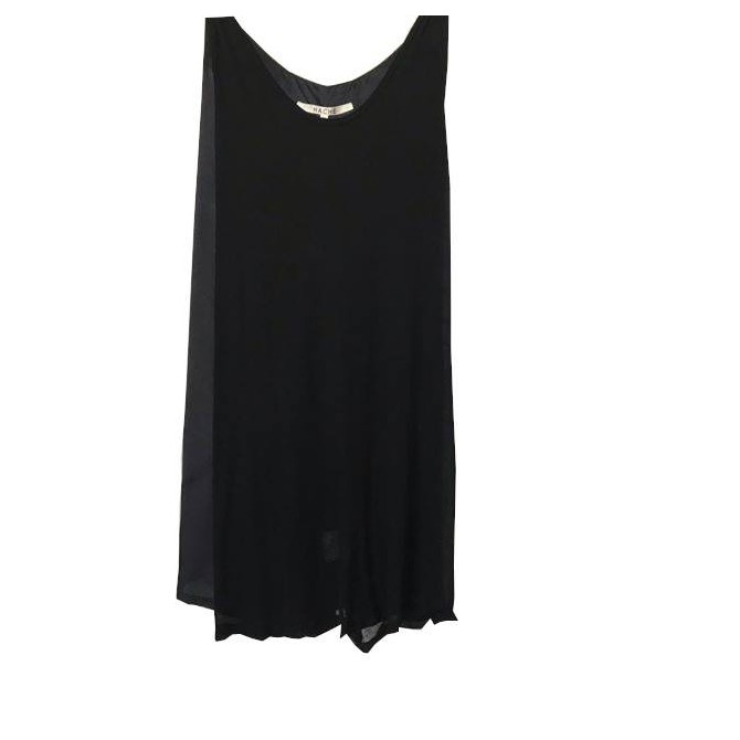 HACHE black shift dress size IT 46