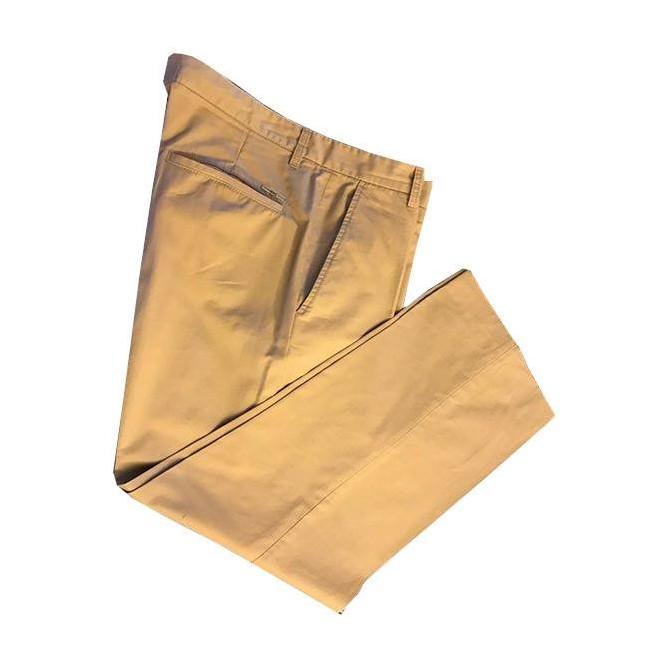 Dsquared2 camel cotton trousers