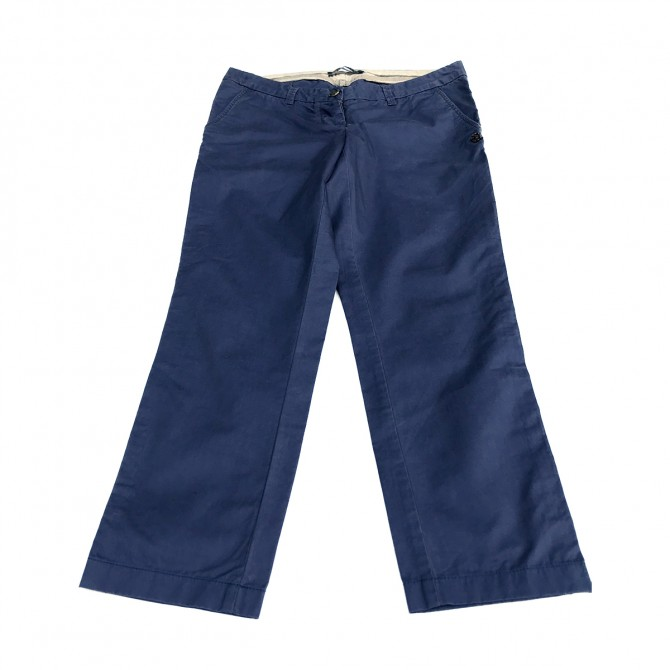 Maison Scotch blue cropped Trousers