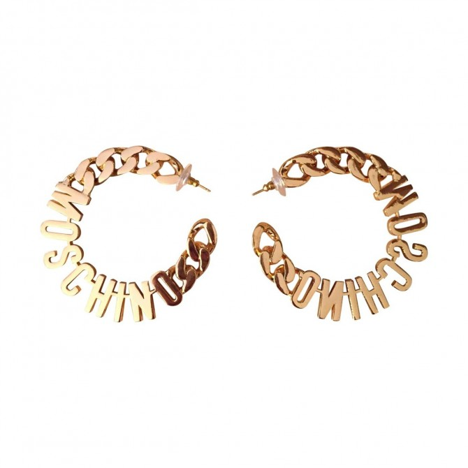 MOSCHINO for H&M current season earrings