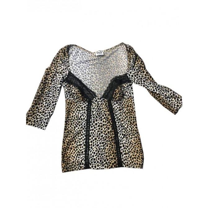 Dolce & Gabbana Animal print shirt