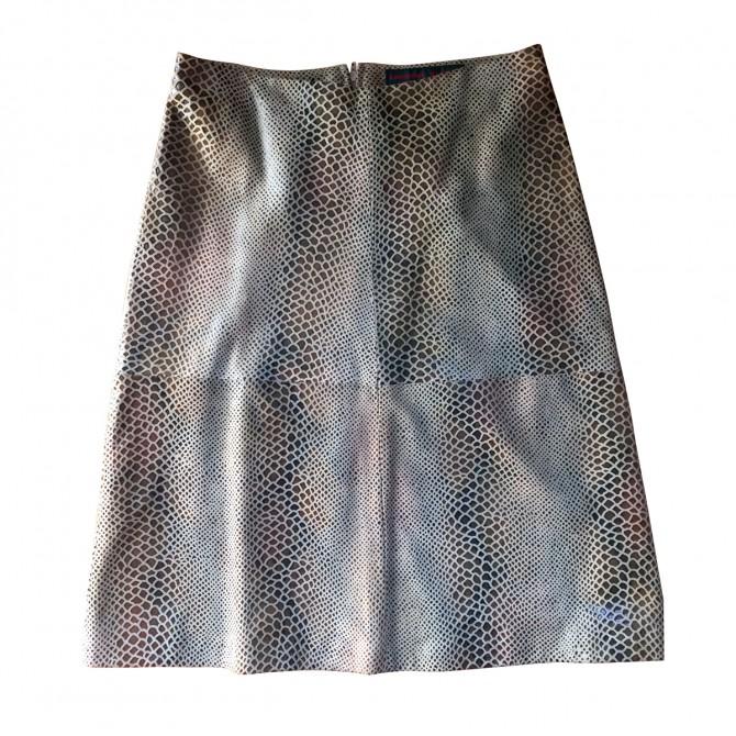 KATHARINE HAMNETT Leather skirt