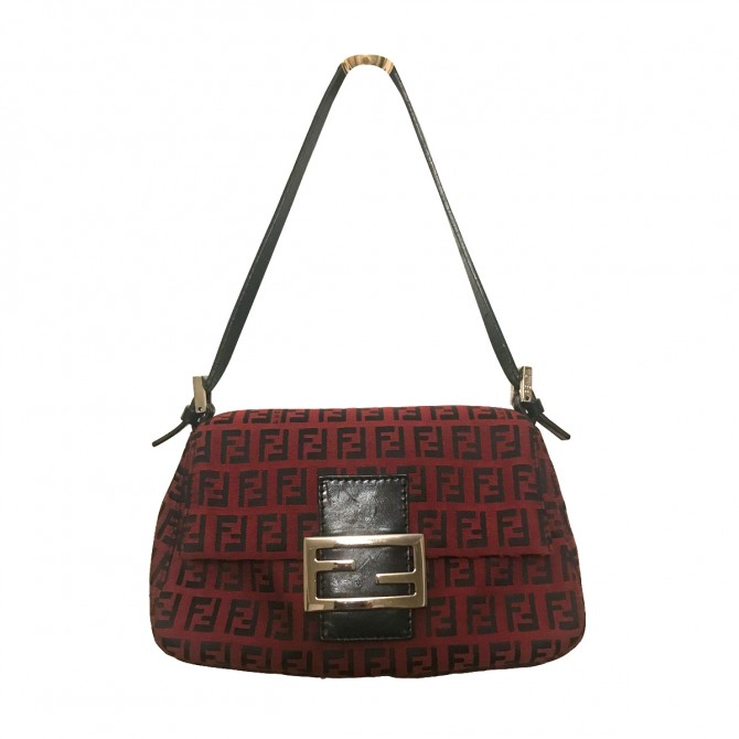 Fendi Burgundy Small handbag