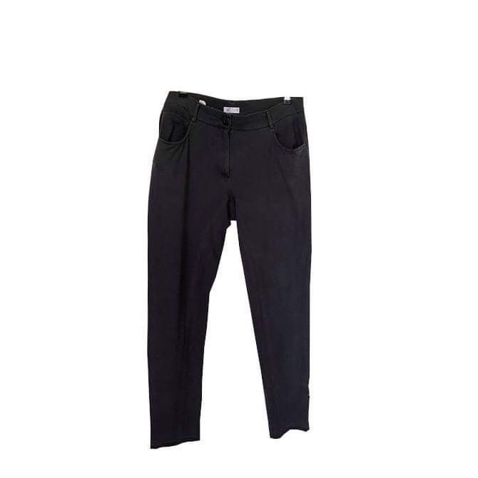 Brunello Cucinelli mauve cotton trousers IT 46