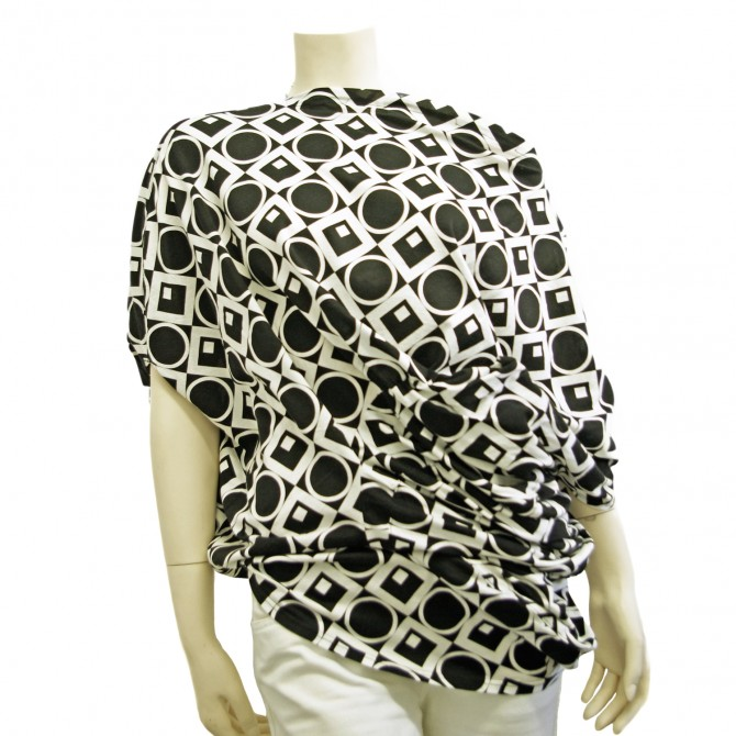 Junya Watanabe black and white top