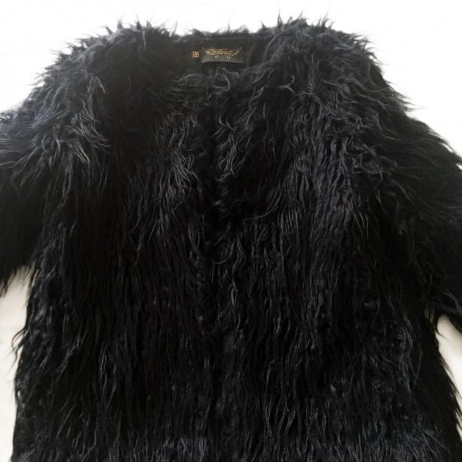 Finger in the Nose  faux fur coat