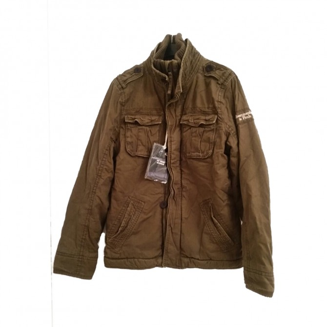 Abercrombie & Fitch jacket with fur lining size L