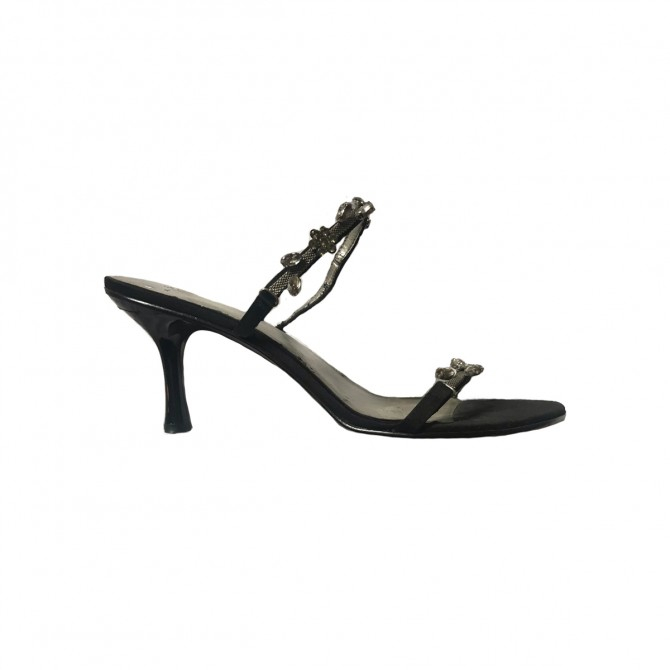 Anne Klein satin sandals size IT38.5