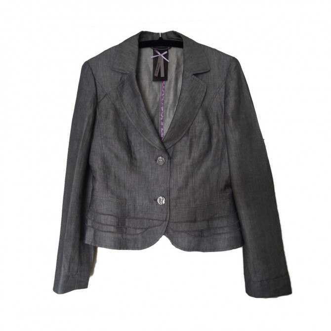 Betty Barclay  jacket in linen and cotton UK10