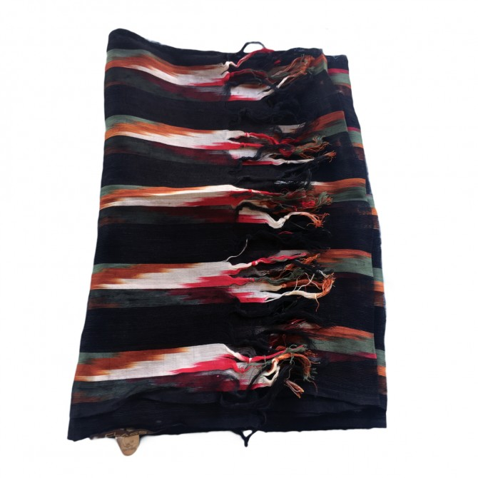 ROBERTO CAVALLI silk cotton shawl