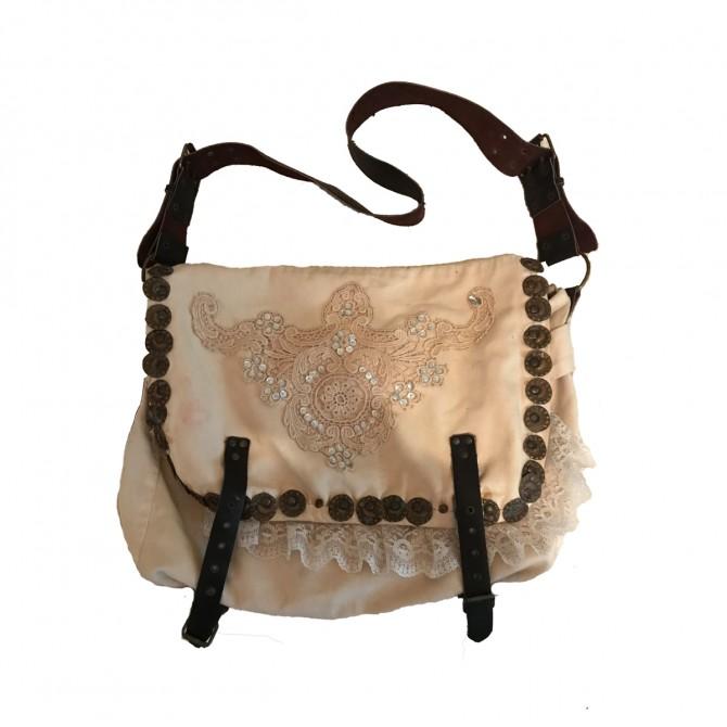 Beige cloth bag