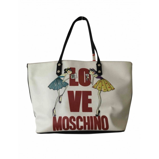 Moschino Love tote bag with foulard