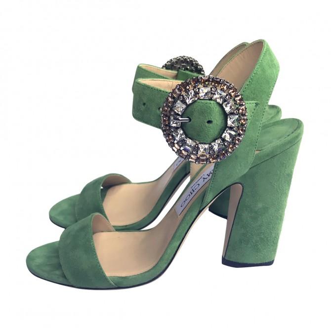 Jimmy Choo Lime Green Sandals
