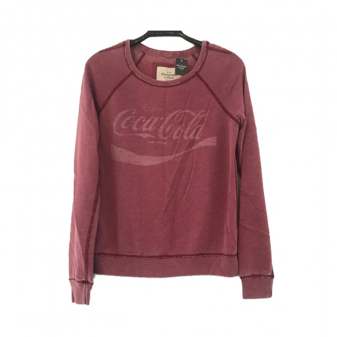 Abercrombie & Fitch women red sweater size S