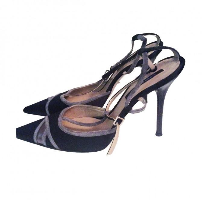 Diego Dolcini Luxury Sling Back Shoes