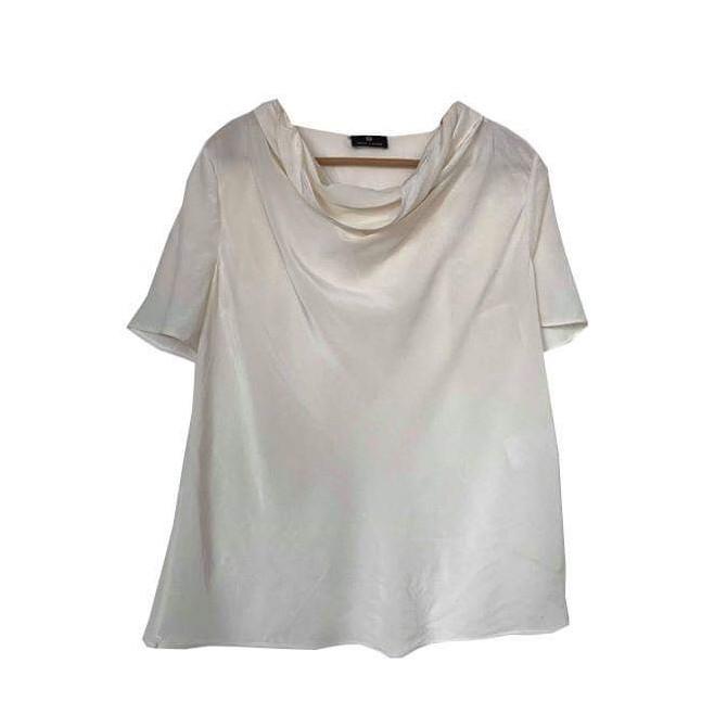 Rena Lange silk blouse size IT48 or XL