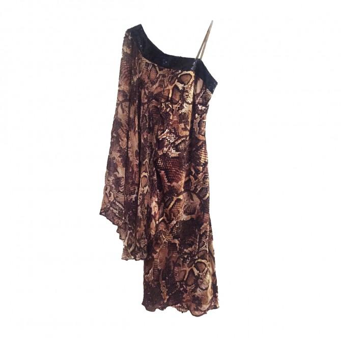 Kostetsou Polyxeni leopard print dress