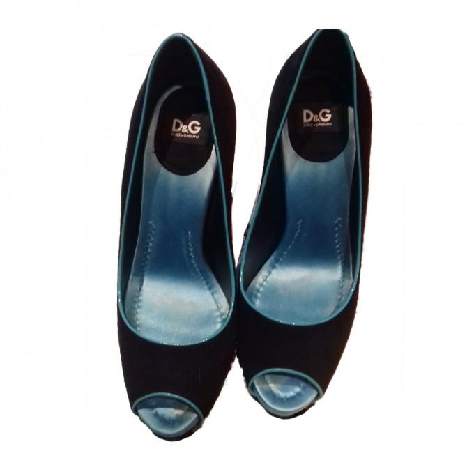 D&G peep toe heels size IT37