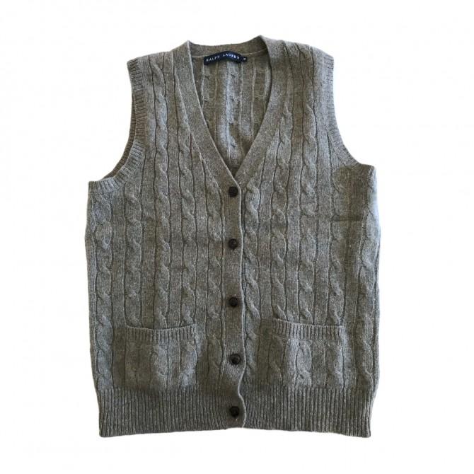 Ralph Lauren knit buttoned vest