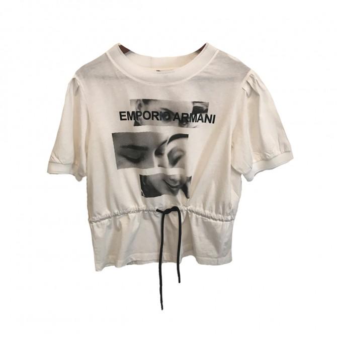 Emporio Armani White top IT 44 or INT M-L